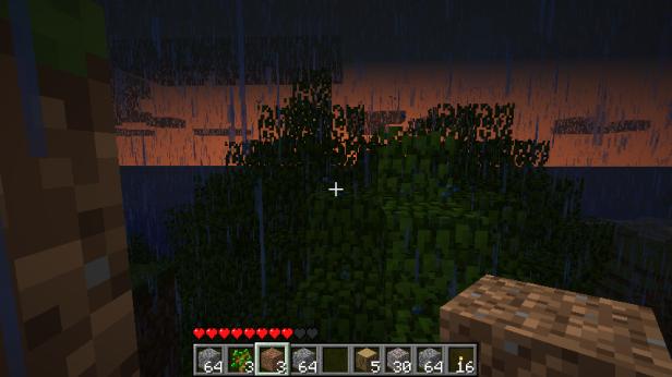 Sunrise though the rain storm