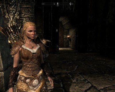 Leona Secondborn arrives at High Hrothgar to learn about shouts and what it means to be dragonborn.
