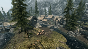 The mill on the edge of Riverwood