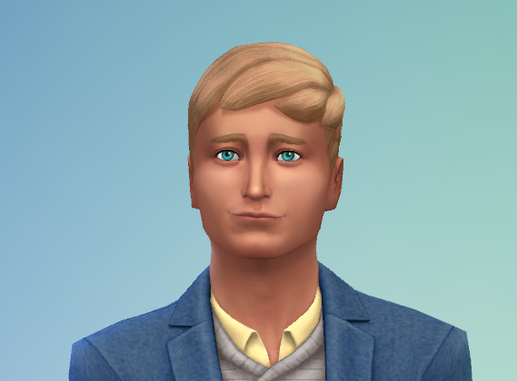 Phillip in CAS with much larger eyes that most men who age up these days.