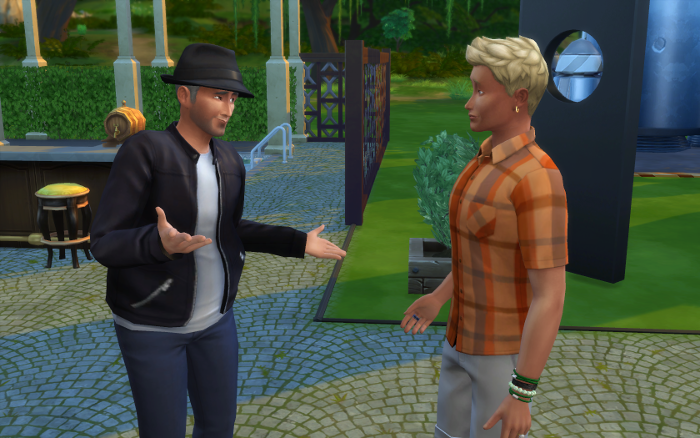 Darin explains to Michel why he took the youth potion.