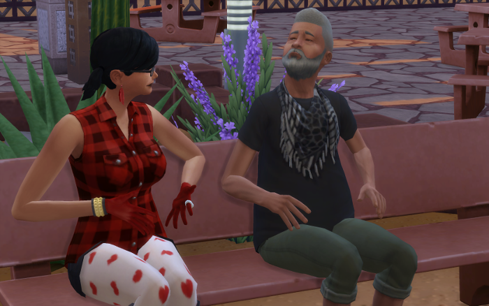 "Harley ""shares the news"" with Deshawn, who looks a bit awkward to be learning he's a father. I honestly had no idea if he was going to be happy or not."