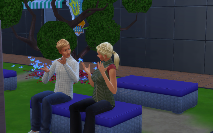 Samuel and Grace are surprised to meet each other again so many years later.