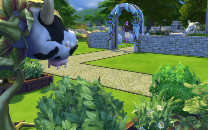 Sheby watches Julienne enter the graveyard.