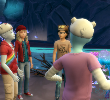 onezero speaks to the group.
