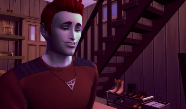 Adam looks quite confident.