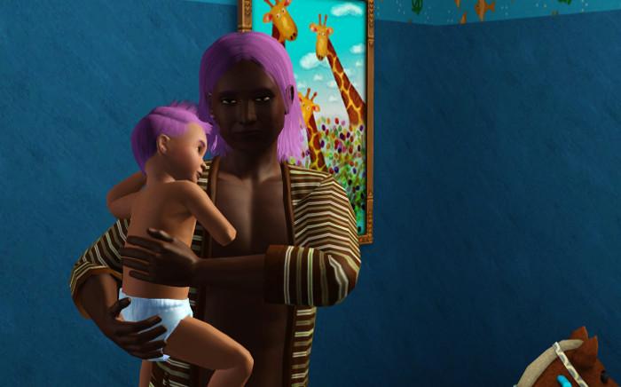 Basil became a toddler.