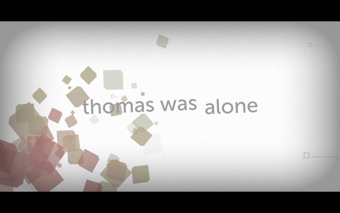 Thomas was alone title screen.
