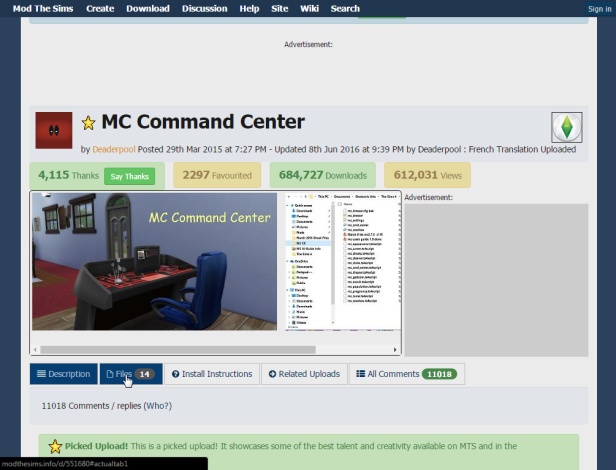 2016-06-16 11_09_22-Mod The Sims - MC Command Center