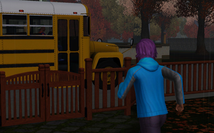 This is the last time Basil had to run to catch the bus.