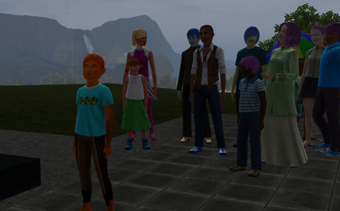 And stand outside the school. (This is a great way to find cousins!)