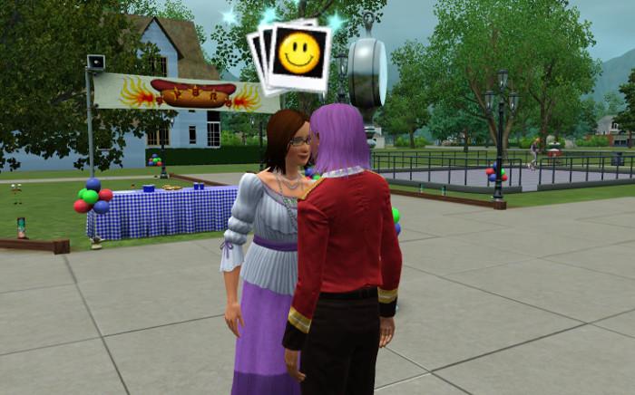 Belinda and Basil are staying waaaay too close at the fair.