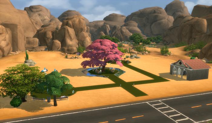 Newly opened park.
